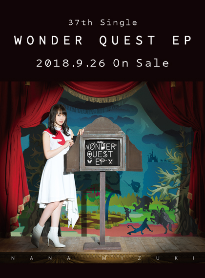 37th Single「WONDER QUEST EP」